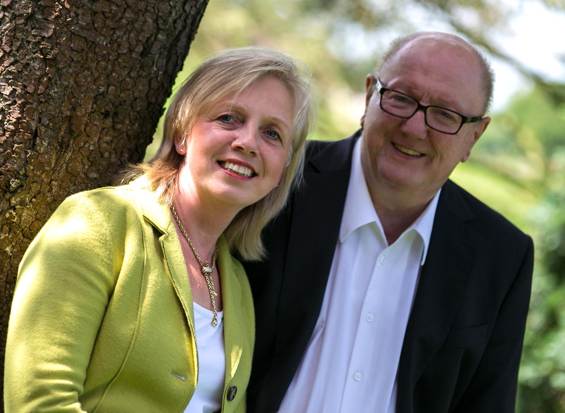 Annemarie Heuer & Wilfried Gellrich Die Gründer von at-home
